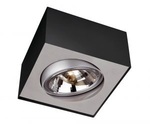 Deckenlampe BLOQ von Lirio by Philips schwarz