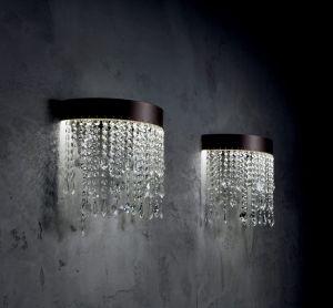 Eclisse AP Kristall Wandlampe von Vintage