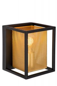 LU 21222/01/30 SANSA Wall light 1xE27/40W Black/Gold
