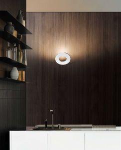 Passepartout weiß LED Wandleuchte von Cini&Nils
