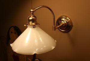 Originale Bauernstuben Wandlampe Anna mit Gelenk