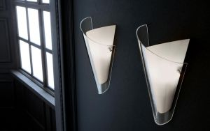 Wandlampe Double von Muranoluce