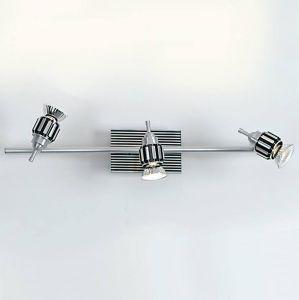 PL 5783-3 Carrara Decken-/Wandleuchte Spot, Aluminium