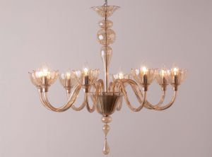 Chandelier Color with 3 arms from Changini & Tucci