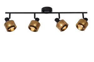 LU 77980/04/30 Lucide RAFA - Ceiling spotlight - 4xE14 - Black