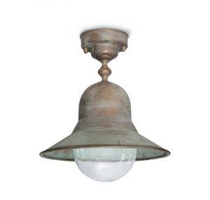 Außendeckenlampe aus Messing 2095 von Moretti Luce