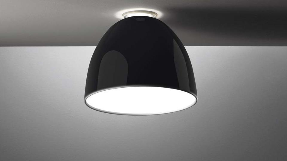 nur mini gloss soffitto deckenleuchte von artemide kinderzimmer r ume platinlux der. Black Bedroom Furniture Sets. Home Design Ideas