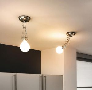 Wand- oder Deckeneleuchte Matrix Mono von Lumina