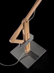 Sockel aus Stahl für LEVA von Leucos