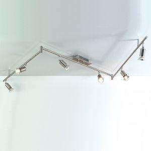PL 5730-6L Grossetto Nichel LED Deckenstrahler