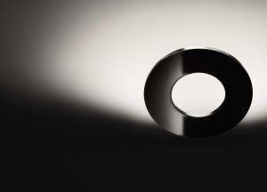 Passepartout nero lampada da parete LED di Cini&Nils
