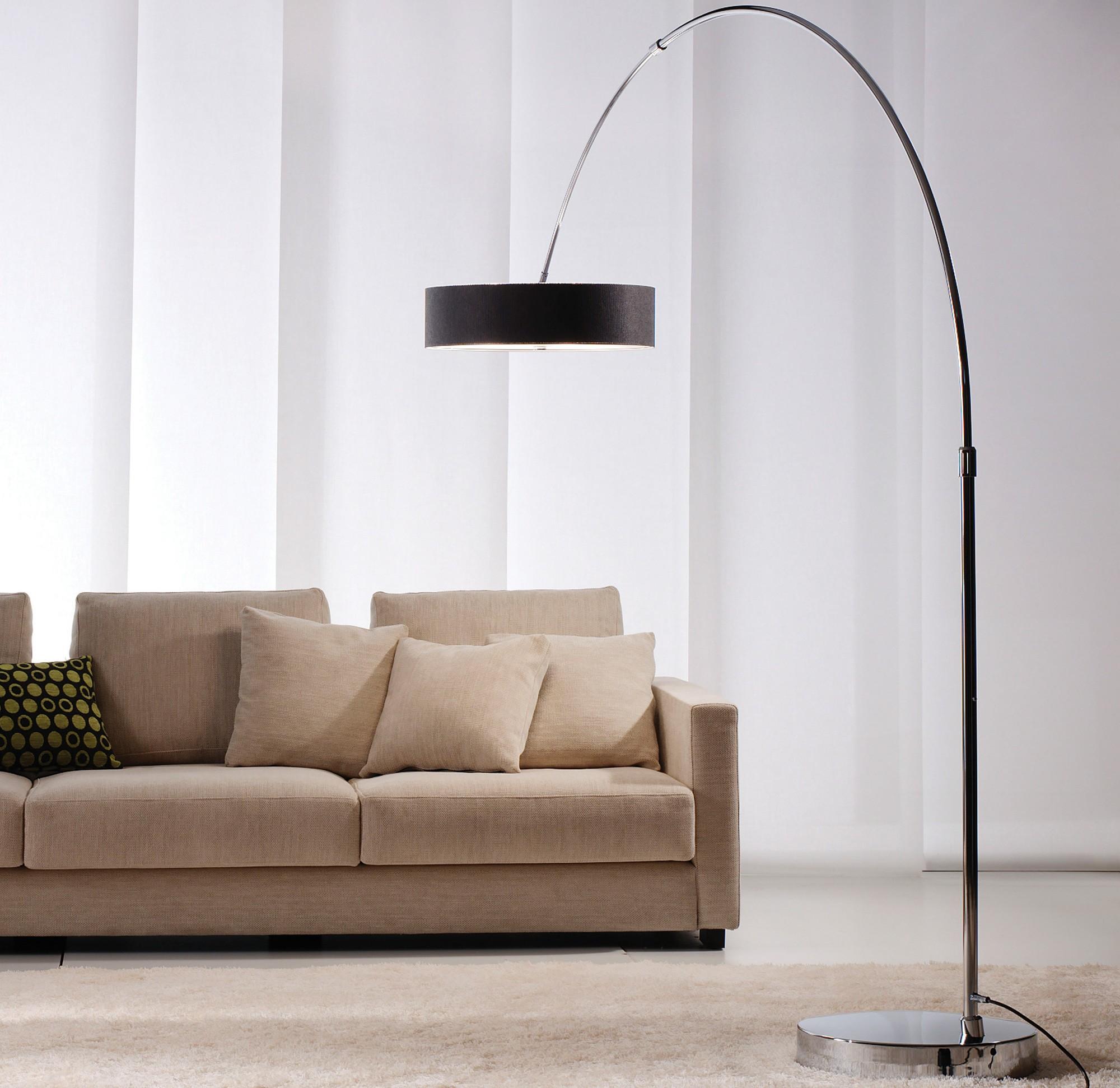iris p 2718 bogenleuchte von estiluz. Black Bedroom Furniture Sets. Home Design Ideas