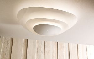 Design ceiling lamp Plana, Muranoluce