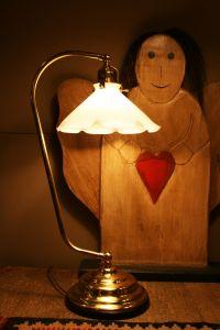 Originale Bauernstuben Tischlampe Anna
