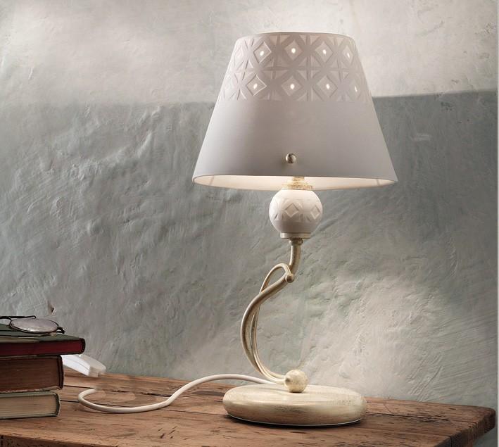 viterbo tischleuchte von ferroluce rustikale leuchten innenleuchten platinlux der online. Black Bedroom Furniture Sets. Home Design Ideas