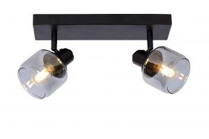 LU 77979/02/30 Lucide BJORN - Ceiling spotlight - 2xE14 - Black