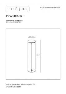 LU 27849/12/29 POWERPOINT NL/DUI Plug box