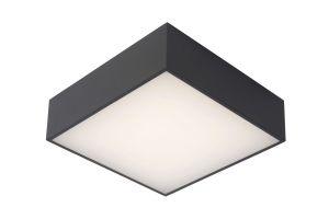 LU 27816/10/29 ROXANE Ceiling Light Led Square10W  Anthraci