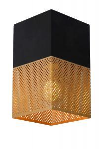 LU 21123/01/02 RENATE Ceiling Light  1x E27/40W Black/Gold