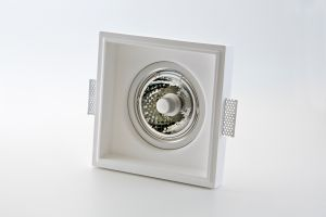 Einbaulampe aus Gips 812 von Isy Luce