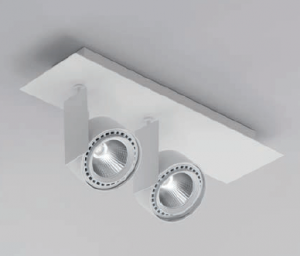 Mur 2x LED Strahler von Aqlus Biffi Luce