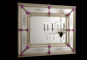 Fortuny Deko-Spiegel von Vintage