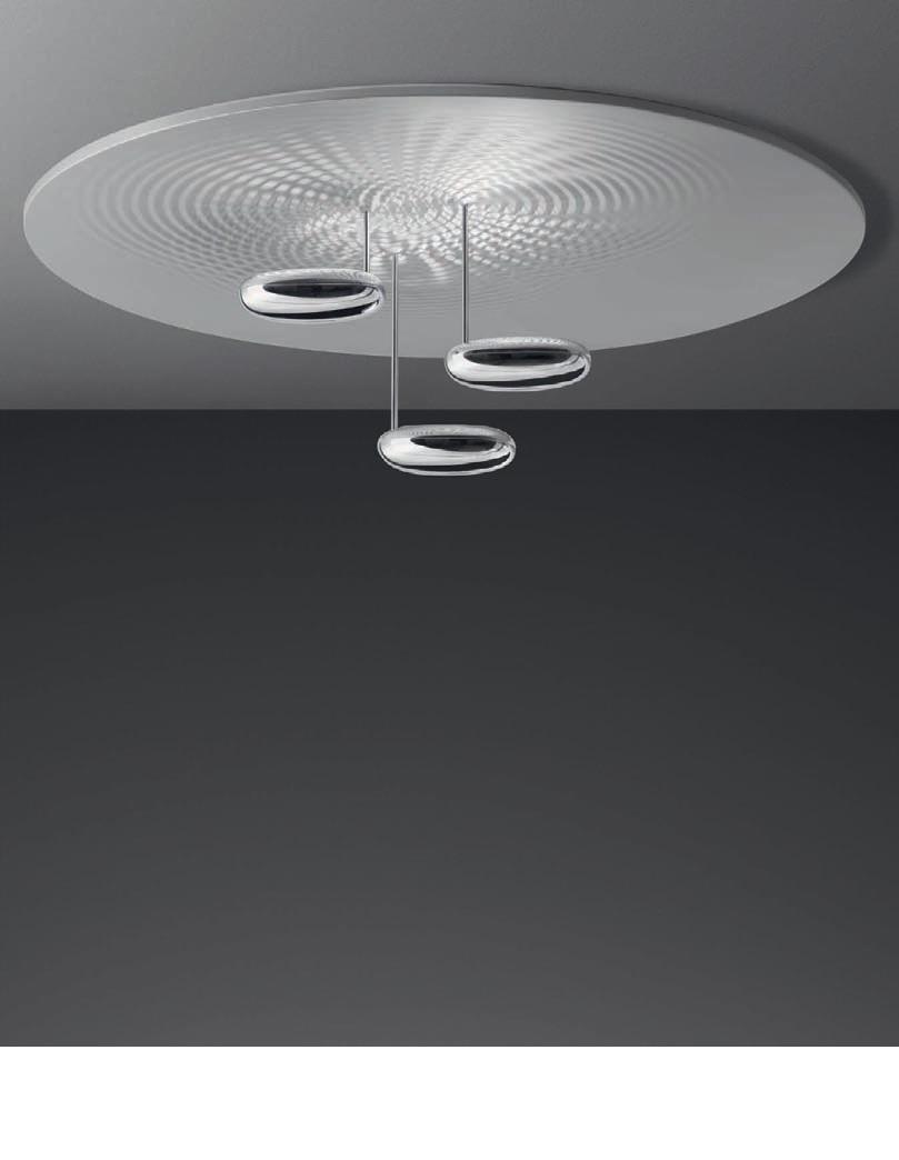 droplet soffitto deckenleuchte von artemide deckenleuchten innenleuchten platinlux der. Black Bedroom Furniture Sets. Home Design Ideas