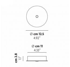 Single Standard Deckenrosette von Lodes