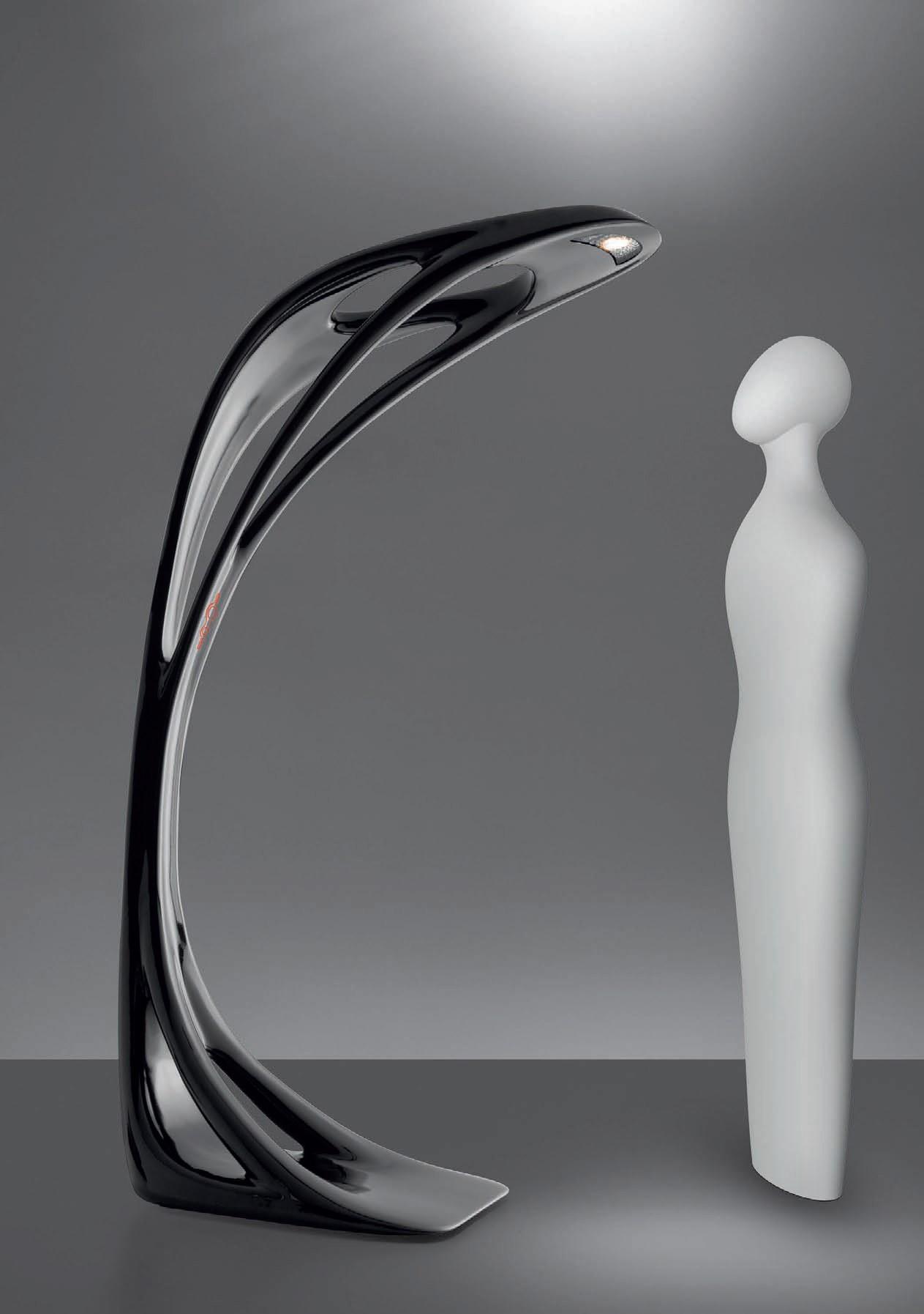 stehlampe genesy von artemide. Black Bedroom Furniture Sets. Home Design Ideas