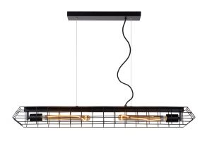 LU 05332/02/30 LATTICE Pendant E27/40W Black