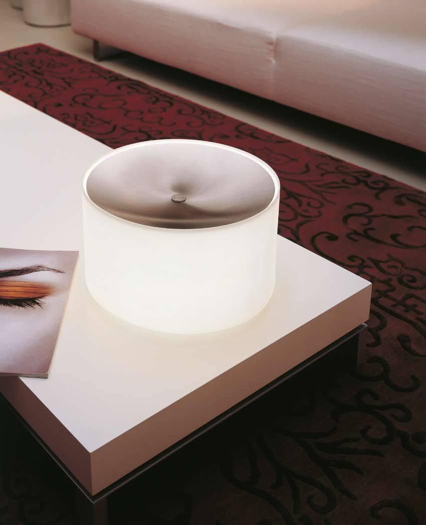 round ta tischlampe von morosini tischleuchten innenleuchten platinlux der online shop. Black Bedroom Furniture Sets. Home Design Ideas