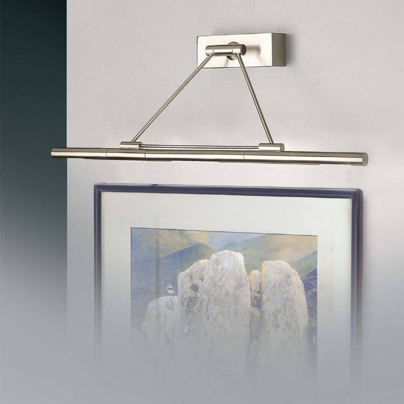 wandlampe f r bilder oder spiegel egoluce ikon maxi klassisch stile platinlux der online. Black Bedroom Furniture Sets. Home Design Ideas