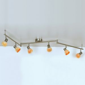PL 0030-6 Elba Decken-/Wandstrahler, amber