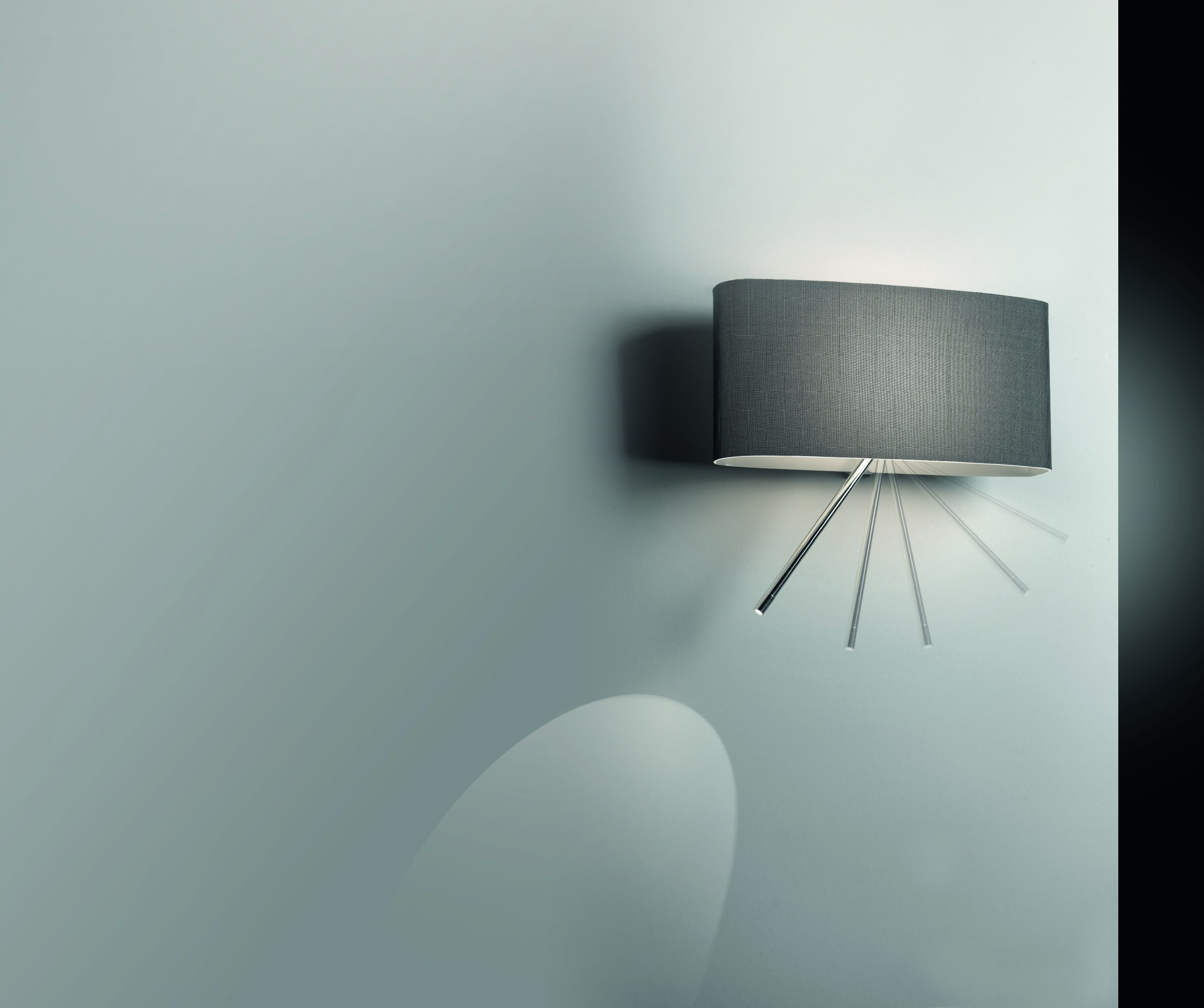 wall lamp with reading light pupilla 4571 by egoluce. Black Bedroom Furniture Sets. Home Design Ideas
