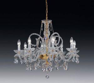 GRANADA 8L Crystal chandelier by Voltolina