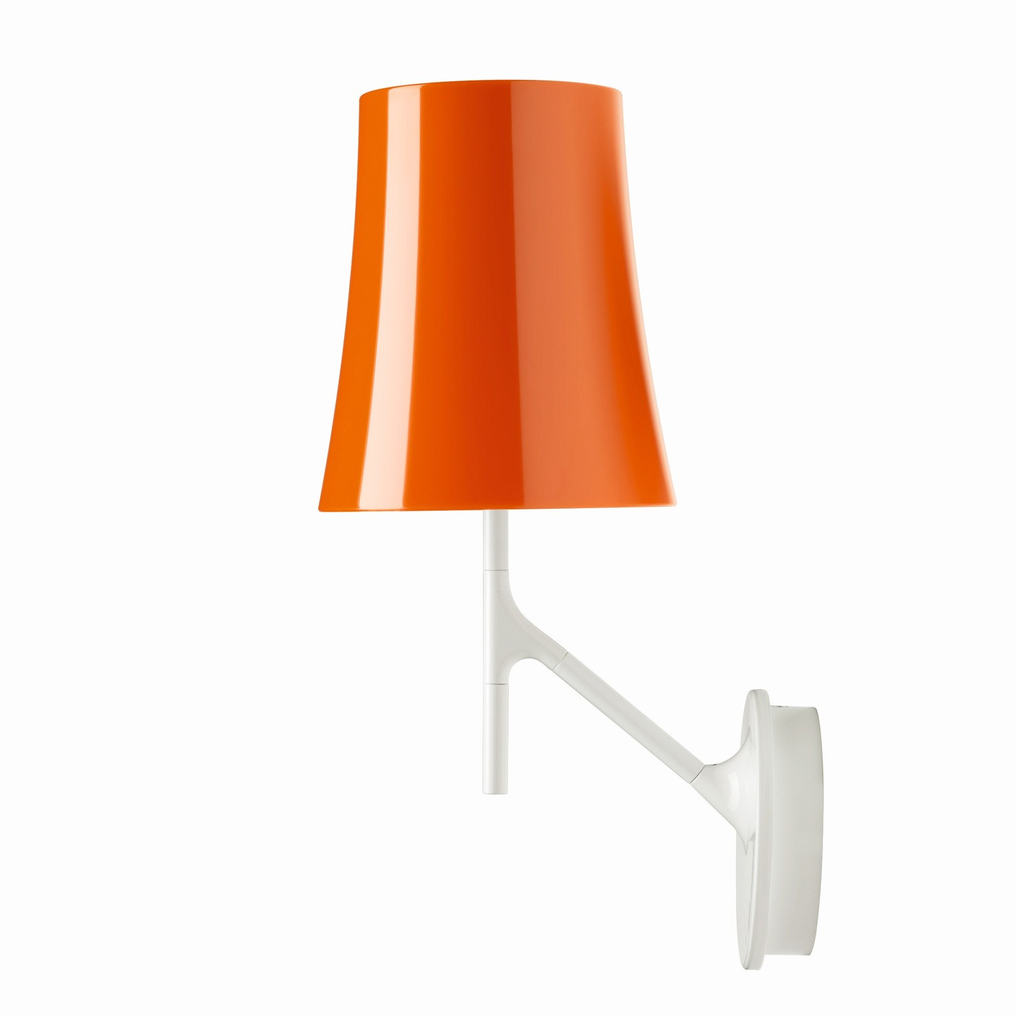 wandlampe birdie mit touch dimmer von foscarini. Black Bedroom Furniture Sets. Home Design Ideas
