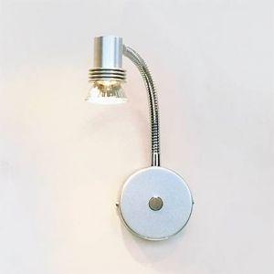 PL 5713-1W Biagio Wandstrahler Spot, metallisiert