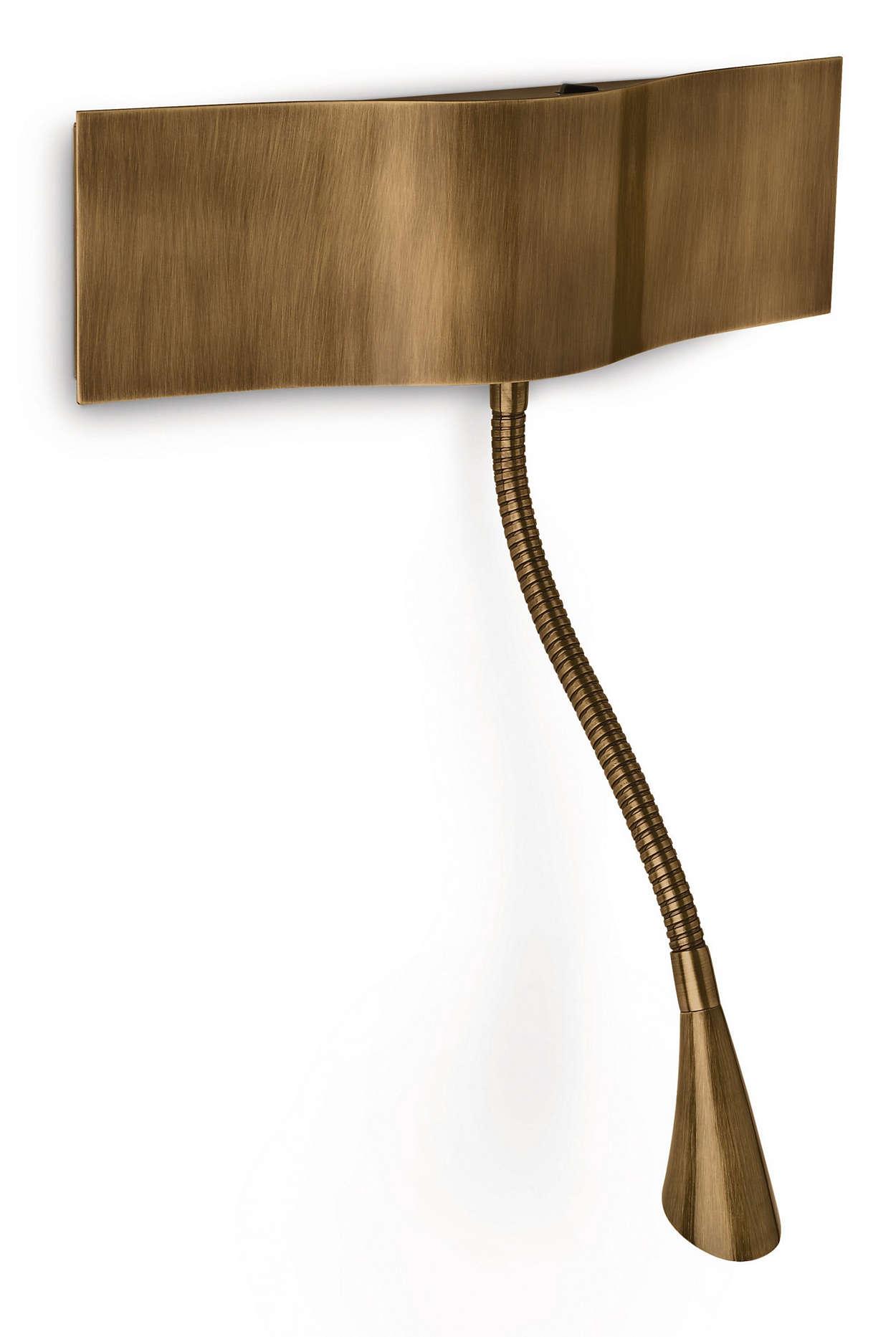 instyle wandleuchte probo von philips. Black Bedroom Furniture Sets. Home Design Ideas