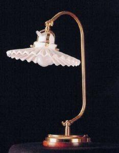 Originale Bauernstuben Tischlampe Rosa