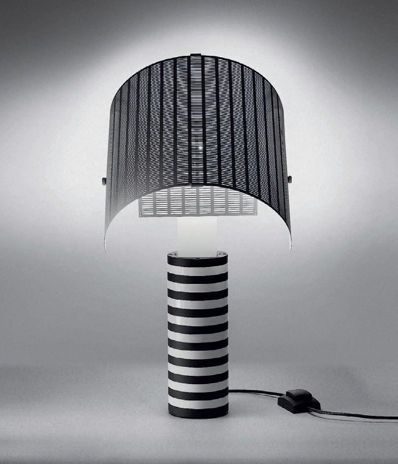 shogun tavolo tischleuchte von artemide tischleuchten. Black Bedroom Furniture Sets. Home Design Ideas
